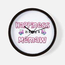 Cute Memaw Wall Clock