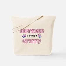 Cool Happiness being grandma Tote Bag