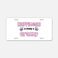 Cool Nana butterfly Aluminum License Plate