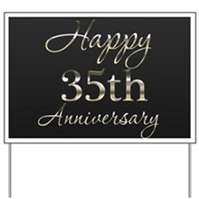 Banner 35th Anniversary Yard Sign