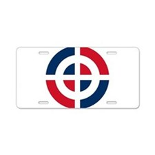 Dominican Republic Roundel Aluminum License Plate