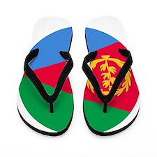 Eritrea Roundel Flip Flops