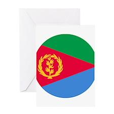 Eritrea Roundel Greeting Card