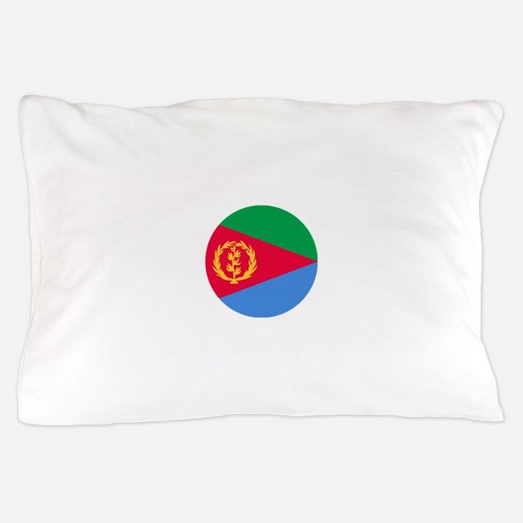 Eritrea Roundel Pillow Case