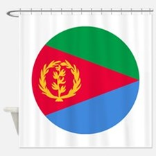 Eritrea Roundel Shower Curtain