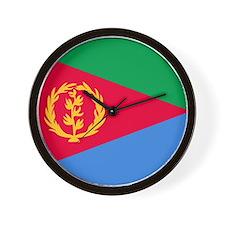 Eritrea Roundel Wall Clock