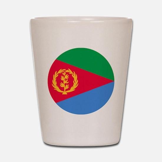 Eritrea Roundel Shot Glass