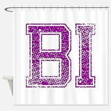BI, Vintage Shower Curtain