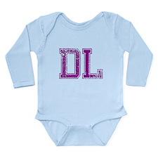 DL, Vintage Long Sleeve Infant Bodysuit