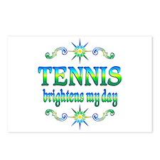Tennis Brightens Postcards (Package of 8)