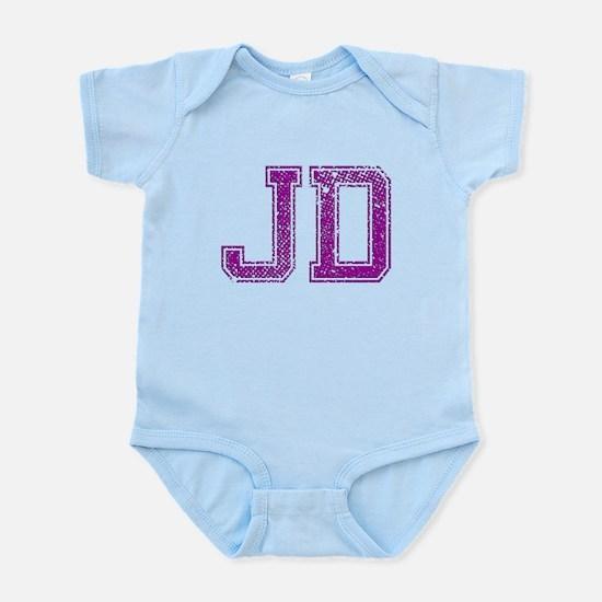 JD, Vintage Infant Bodysuit