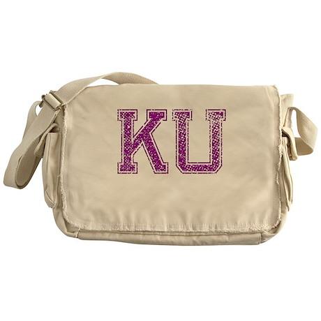 KU, Vintage Messenger Bag