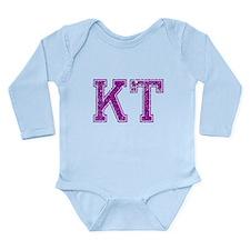 KT, Vintage Long Sleeve Infant Bodysuit
