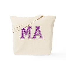 MA, Vintage Tote Bag