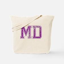 MD, Vintage Tote Bag