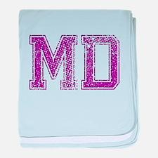 MD, Vintage baby blanket