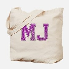 MJ, Vintage Tote Bag