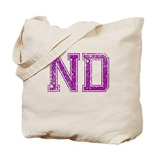 ND, Vintage Tote Bag