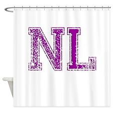 NL, Vintage Shower Curtain