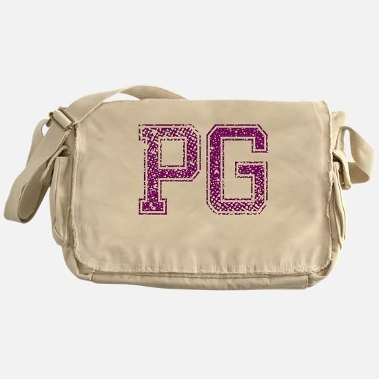PG, Vintage Messenger Bag