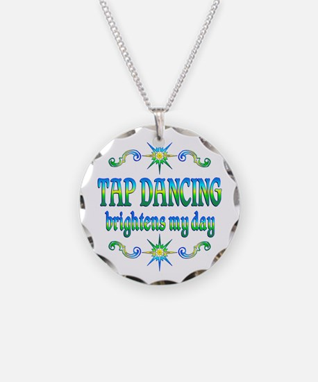 Tap Dancing Brightens Necklace