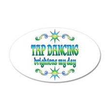 Tap Dancing Brightens Wall Decal