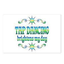 Tap Dancing Brightens Postcards (Package of 8)