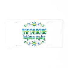 Tap Dancing Brightens Aluminum License Plate