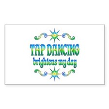 Tap Dancing Brightens Decal