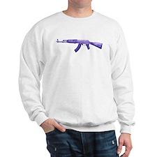 Purple AK47 Sweatshirt