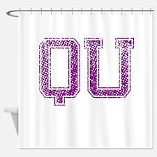 QU, Vintage Shower Curtain