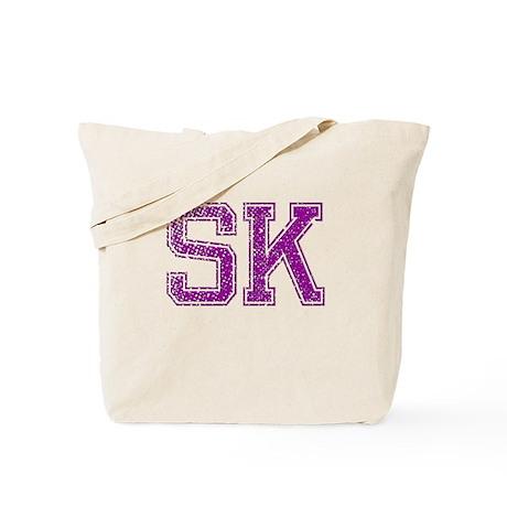 SK, Vintage Tote Bag