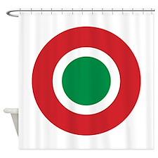 Italy Roundel Shower Curtain
