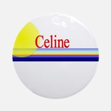 Celine Ornament (Round)