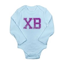 XB, Vintage Long Sleeve Infant Bodysuit