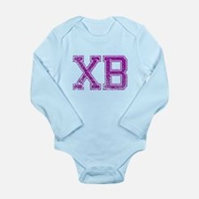 XB, Vintage Long Sleeve Infant Bodysuit