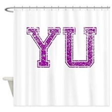 YU, Vintage Shower Curtain