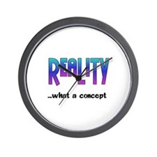 Reality~1074x1542.png Wall Clock