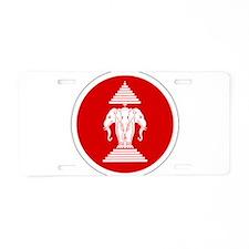 Laos Roundel Aluminum License Plate