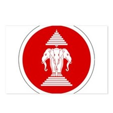Laos Roundel Postcards (Package of 8)