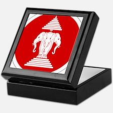 Laos Roundel Keepsake Box