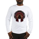 Native War Bonnet 06 Long Sleeve T-Shirt