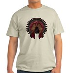 Native War Bonnet 06 Light T-Shirt