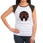 Native War Bonnet 06 Women's Cap Sleeve T-Shirt