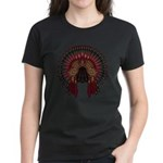 Native War Bonnet 06 Women's Dark T-Shirt