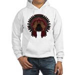 Native War Bonnet 06 Hooded Sweatshirt