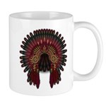 Native War Bonnet 06 Mug