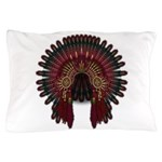 Native War Bonnet 06 Pillow Case