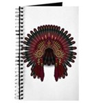 Native War Bonnet 06 Journal