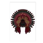 Native War Bonnet 06 Postcards (Package of 8)